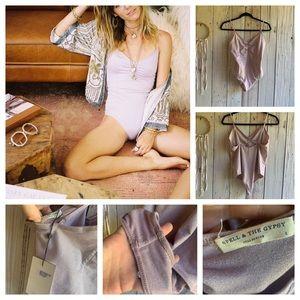 Spell & The Gypsy Twinkle Bodysuit L NWT